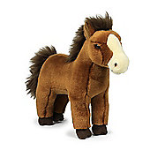 WWF Red Brown Horse Soft Toy - 23cm