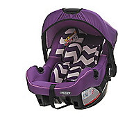 OBaby Zeal Group 0+ Infant Car Seat (ZigZag Purple)