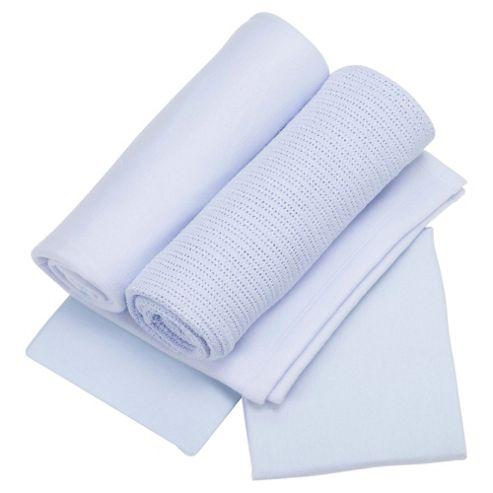 Lollipop Lane Set - Cot Bed Perwinkle Blue