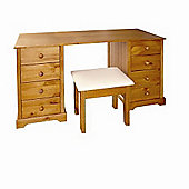 Home Zone Atlantic Dressing Table and Stool