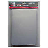 A5 Pearl White Card & Envelopes 10pk