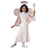 Rubies Fancy Dress - Child Angel Costume - UK Size Large 8-10 Years