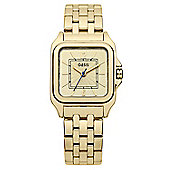 Oasis Ladies Gold PVD Watch - B1279
