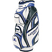 John Letters Tour Golf Bag (Cart) in White & Blue