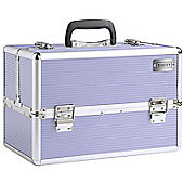 Beautify Large Lilac Beauty Cosmetics Make Up Case