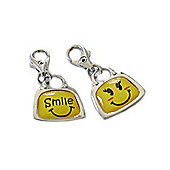 Smile Clip on Charm