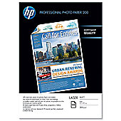 HP Professional Matt Laser Photo Paper 100 Sheet A4 210 x 297 mm