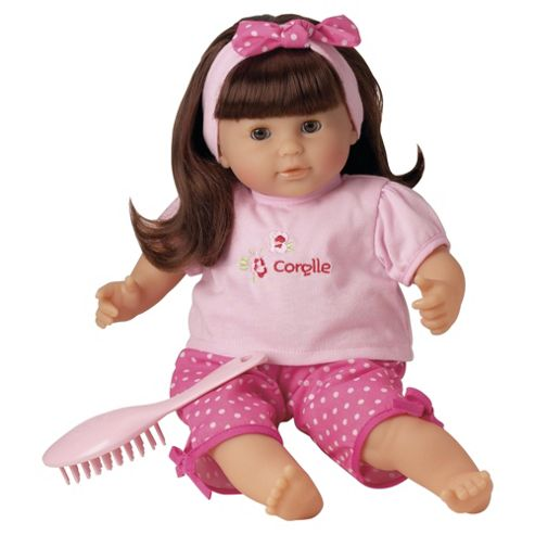 DKL Marketing Limited Choquette Brunette Doll Corolle