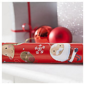 Tesco Chilli Wrap 6m Extra Wide Christmas Wrapping Paper, 6m