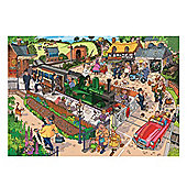 Jumbo Wasgij Destiny 1000 Piece Jigsaw - No.13 puzzle Commuting Chaos