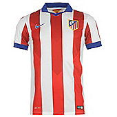 2014-15 Athletico Madrid Home Nike Shirt (Kids) - Red