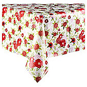 Floral Bouquet Wipe clean Table Cloth suitable for 4-6 persons