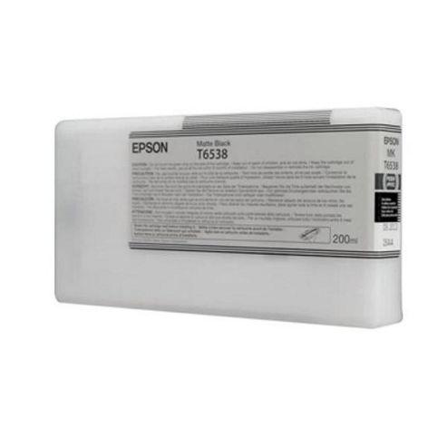 Epson T6538 UltraChrome K3 Ink Cartridge for Stylus Pro 4900 - Matte Black
