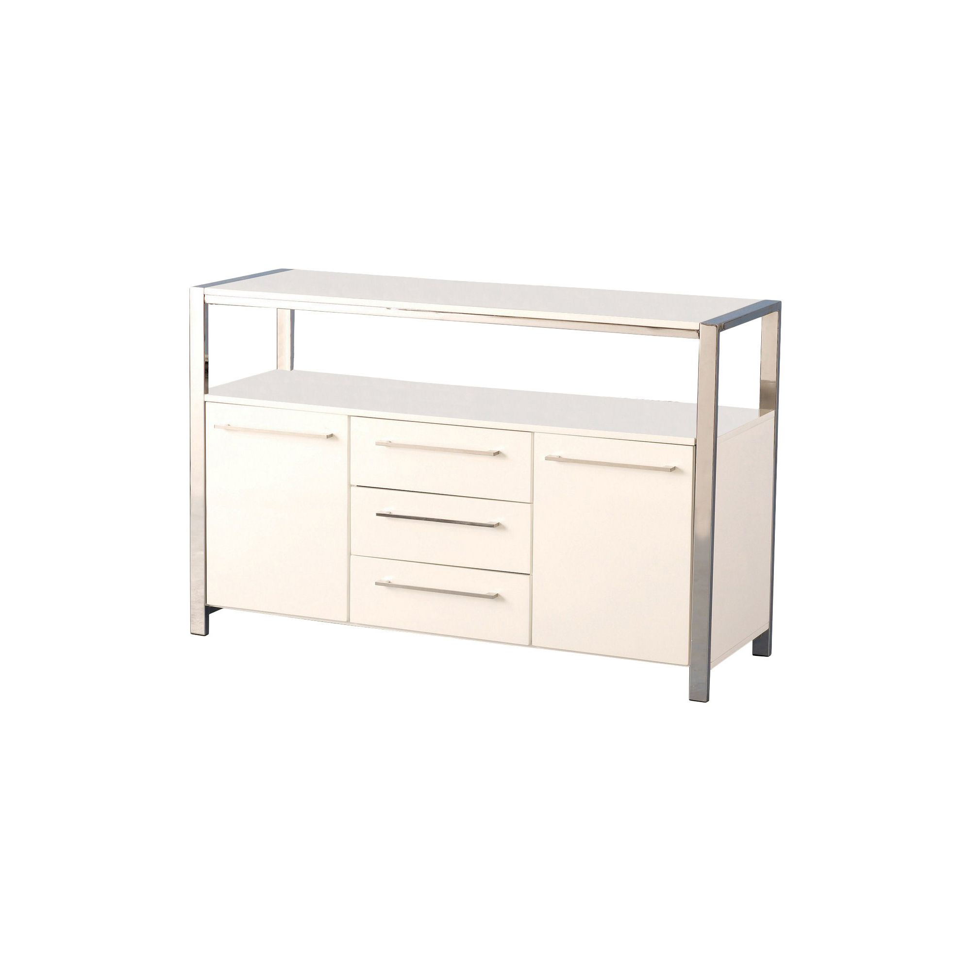 Home Essence BostonSideboard in White at Tesco Direct