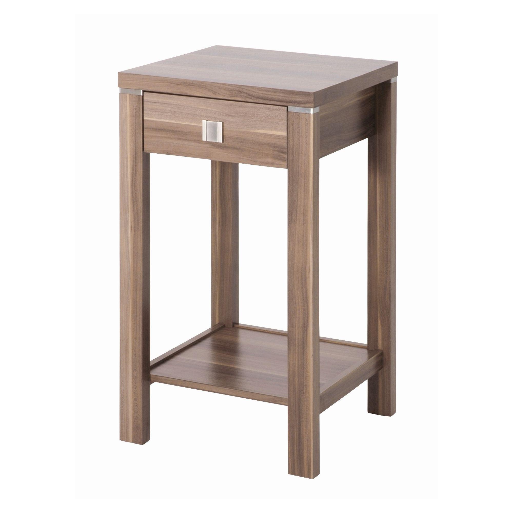 Urbane Designs Samba Nut 74cm Console Table in Walnut