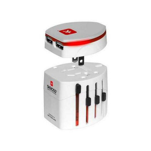 Skross World Travel Adapter 2 and USB Charger.