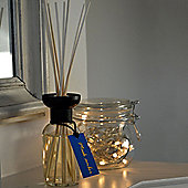Harbour Housewares Musk Amber Scented Reed Diffuser Air Freshener set. 100ml