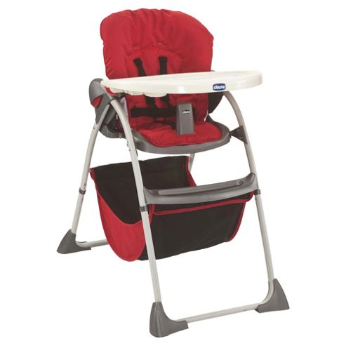 Chicco Happy Snack Highchair, Red