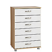 Ideal Furniture Regal 6 Drawer Chest