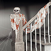 Bloody White Gauze Drape - 4.5m Halloween Decoration