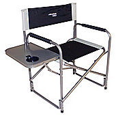 Yellowstone Director Chair Folding Camping Chair with Side Table