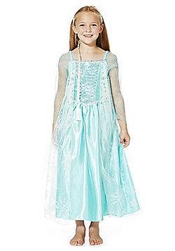 Disney Frozen Elsa Dress-Up Costume years 02 - 03 Blue
