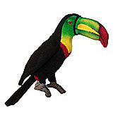Hansa 11cm Baby Toucan Soft Toy