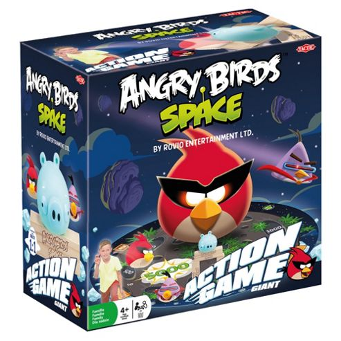 Tactic Space Action Angry Birds