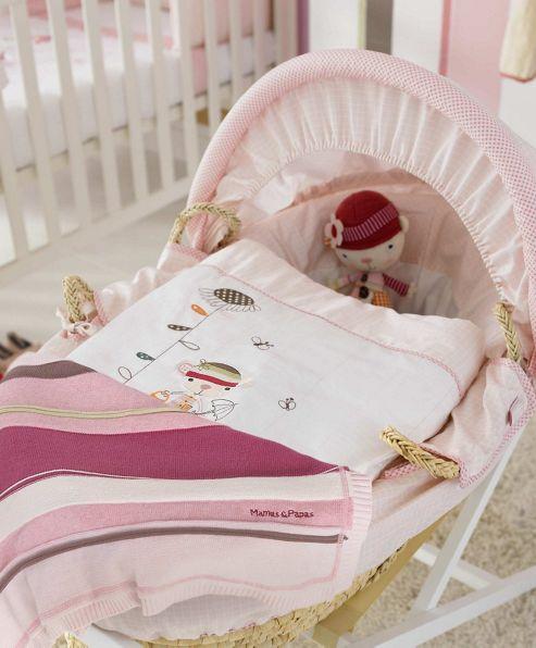 Mamas & Papas - Scrapbook Girls - Moses Basket