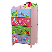 Fantasy Fields Magic Garden 4 Drawer 4 Handle Chest