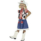 Child Cowgirl Sweetie Costume Large