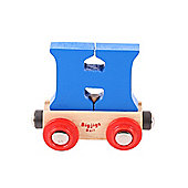 Bigjigs Rail BR108 Name Letter H (Colours Vary)
