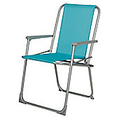 Tesco Picnic Folding Chair - Blue