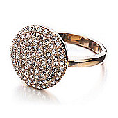 Shimla Ladies Rose Gold Circular Ring - SH-221ML