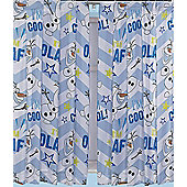 PRE-ORDER Disney Frozen Curtains 72s - Olaf - Multi
