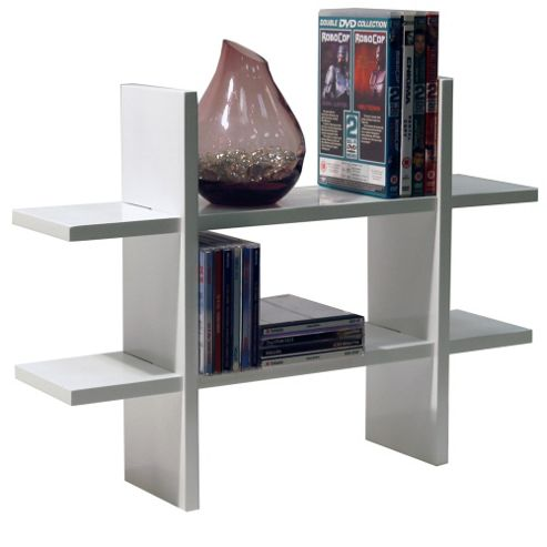 Geo - Wall Mounted Geometric Storage / Display Shelf - White