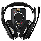 Astro A40 TR Gaming Headset + MixAmp Pro TR for PS4/PS3 & PC - Black