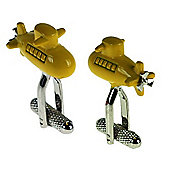 Yellow Submarine Novelty Themed Cufflinks