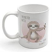 Ninja Sloth Mug