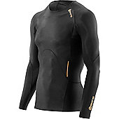 Skins A400 Active Long Sleeve Top - Black