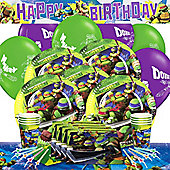 Ninja Turtles Party Pack - Deluxe For 8