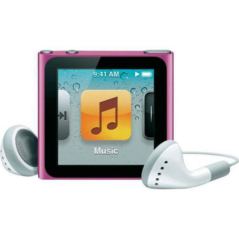 Apple MC692QG/A iPod Nano 8 GB 6th Gen - Pink