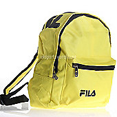 Fila Marshall Mini Kids backpack / School bag / Ruck Sack 30 x 25 x 12cm Yellow