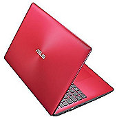 "ASUS X553 15.6"" Intel Pentium Windows 10 4GB RAM 1000GB Laptop Red"