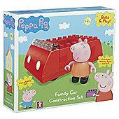 Peppa Family Car Construction Set