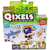 Qixels The Cubes That Join With Water Refill Pack - Deep Sea