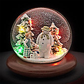 The Snowman, Billy & Snowdog Musical Snow Globe
