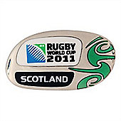 Official Scotland Rugby World Cup 2011 Pin Badge