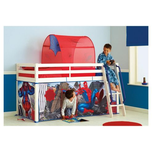 Buy Spiderman Midsleeper Bed Tent Pack From Our Mid Amp High