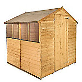 BillyOh 20 6 x 6 Rustic Overlap Apex Shed